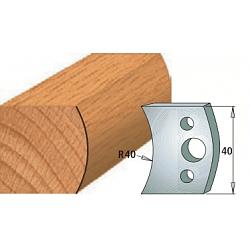 Комплекты ножей и ограничителей серии 690/691 #008 CMT Ножи и ограничители для фрез 40 мм Ножи