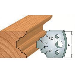 Комплекты ножей и ограничителей серии 690/691 #022 CMT Ножи и ограничители для фрез 40 мм Ножи