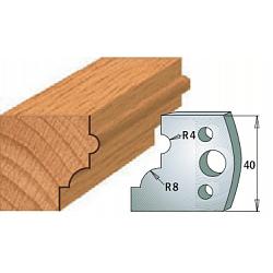 Комплекты ножей и ограничителей серии 690/691 #024 CMT Ножи и ограничители для фрез 40 мм Ножи