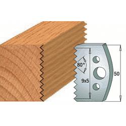 Комплекты ножей и ограничителей серии 690/691 #524 CMT Ножи и ограничители для фрез 50 мм Ножи
