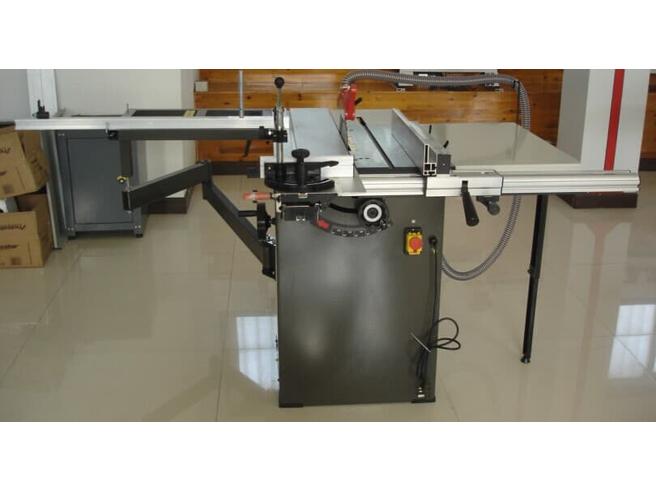 Круглопильный станок с подвижным столом 1300мм JIB MJ10-1300 Harvey Круглопильные станки Столярные станки